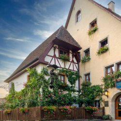 Burghotel in Rothenburg ob der Tauber